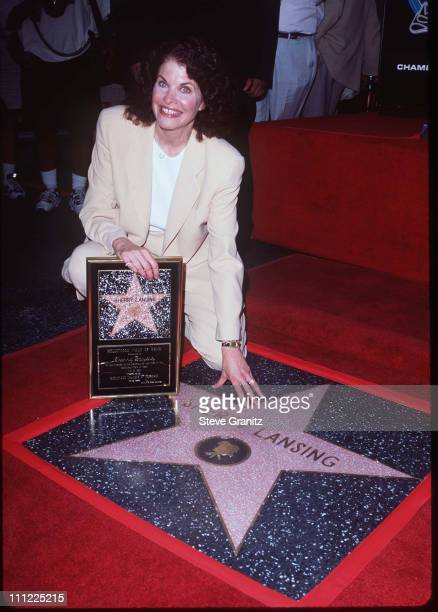 Sherry Lansing during Sherry Lansing Honored with a Star on the Hollywood Walk of Fame at 6925 Hollywood Blvd. In Hollywood, California, United...