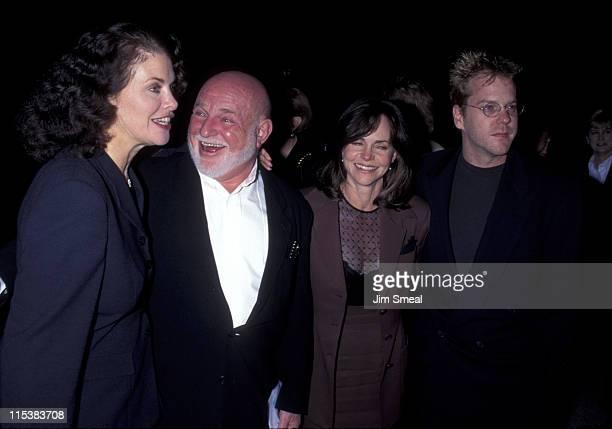 Sherry Lansing John Schlesinger Sally Field and Kiefer Sutherland