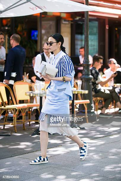 Sherry Shen on June 27 2015 in Paris France