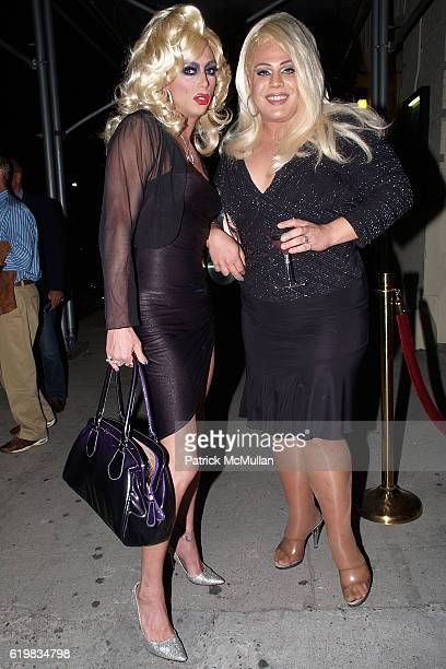 Sherry Vine and Porsche attend A Celebration Honoring the Birthday of JOEY ARIAS and CD Release of ARIAS WITH A TWIST at Here Arts Center on October...