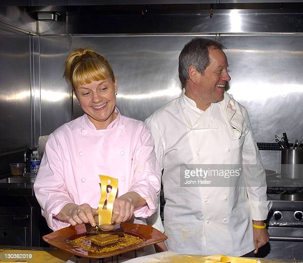 Sherry Yard executive pastry chef of Wolfgang Puck Worldwide and twotime James Beard Awardwinning pastry chef and Wolfgang Puck