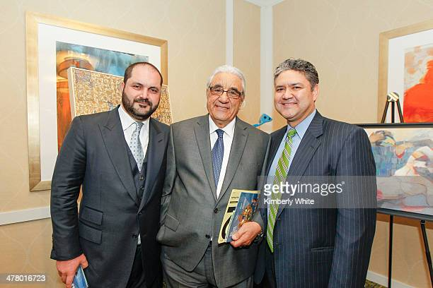 Shervin Pishevar and family attend the PARS Equality Center 4th Annual Nowruz Gala at Marriott Waterfront Burlingame Hotel on March 8 2014 in...
