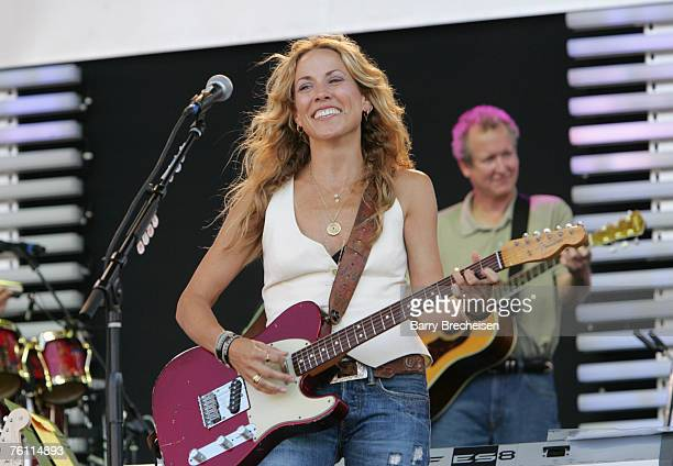 Shery Crow performs at Eric Clapton's Crossroads Guitar Festival 2007 held at Toyota Park on July 28 2007 in Bridgeview Illinois