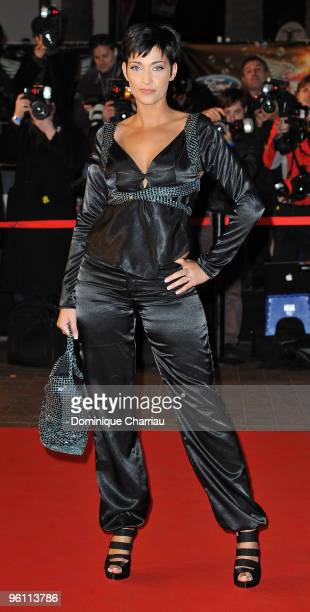 Sheryfa Luna attends the NRJ Music Awards 2010 at Palais des Festivals on January 23, 2010 in Cannes, France.