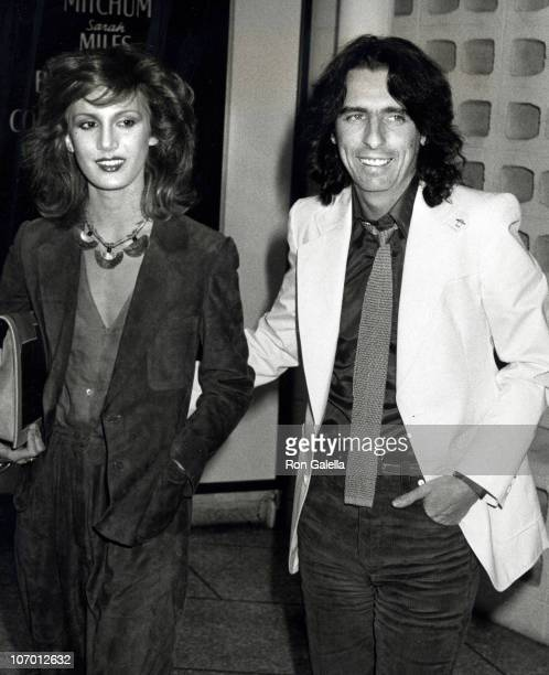 Sheryl Cooper and Alice Cooper during 'The Band' Los Angeles Screening at Cinerama Dome Theater in Universal City California United States