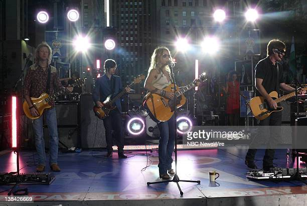 TODAY Sheryl Crow Air Date Pictured Musical guest Sheryl Crow performs live on the Plaza during the Toyota Summer Concert Series on NBC News' Today...
