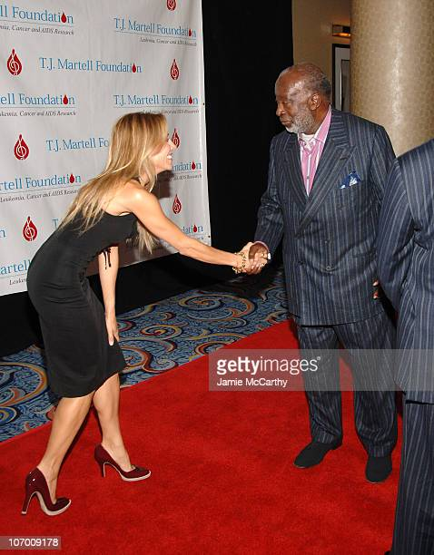 Sheryl Crow and Clarence Avant during Sheryl Crow Presents Former President Bill Clinton with The Humanitarian of the Year Award and Clarence Avant...