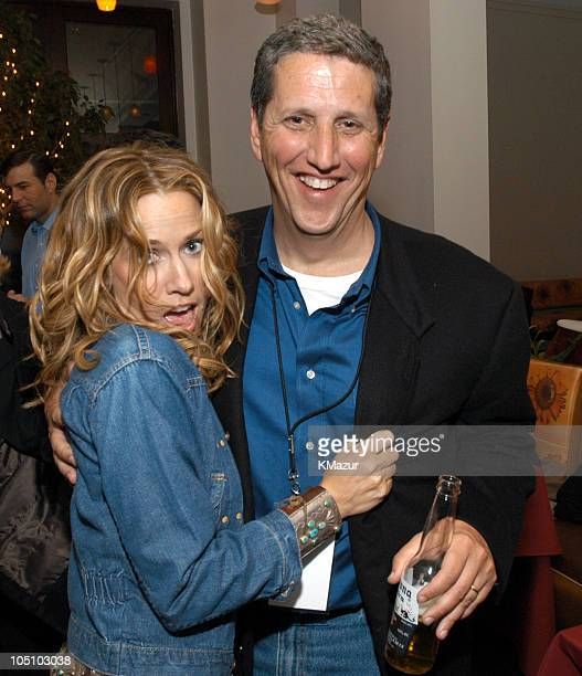 Sheryl Crow and Doug Herzog President of USA Networks