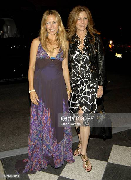 Sheryl Crow and Rita Wilson during The Rainforest Foundation Benefit Dinner Gala May 19 2006 at The Pierre Hotel in New York City New York
