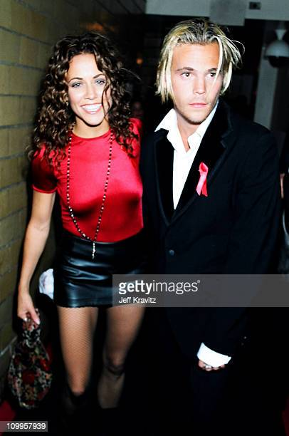 Sheryl Crow and Stephen Dorf during 1994 MTV Video Music Awards at Radio City Music Hall in New York City New York United States