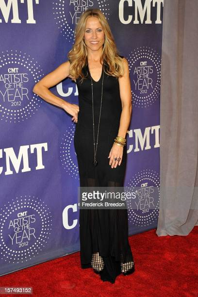 Sheryl Crow arrives at the 2012 CMT Artists Of The Year at The Factory At Franklin on December 3 2012 in Franklin Tennessee