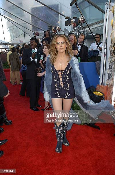 Sheryl Crow at the 44th Annual Grammy Awards at the Staples Center in Los Angeles CA 2/27/2002 Photo by Frank Micelotta/Getty Images