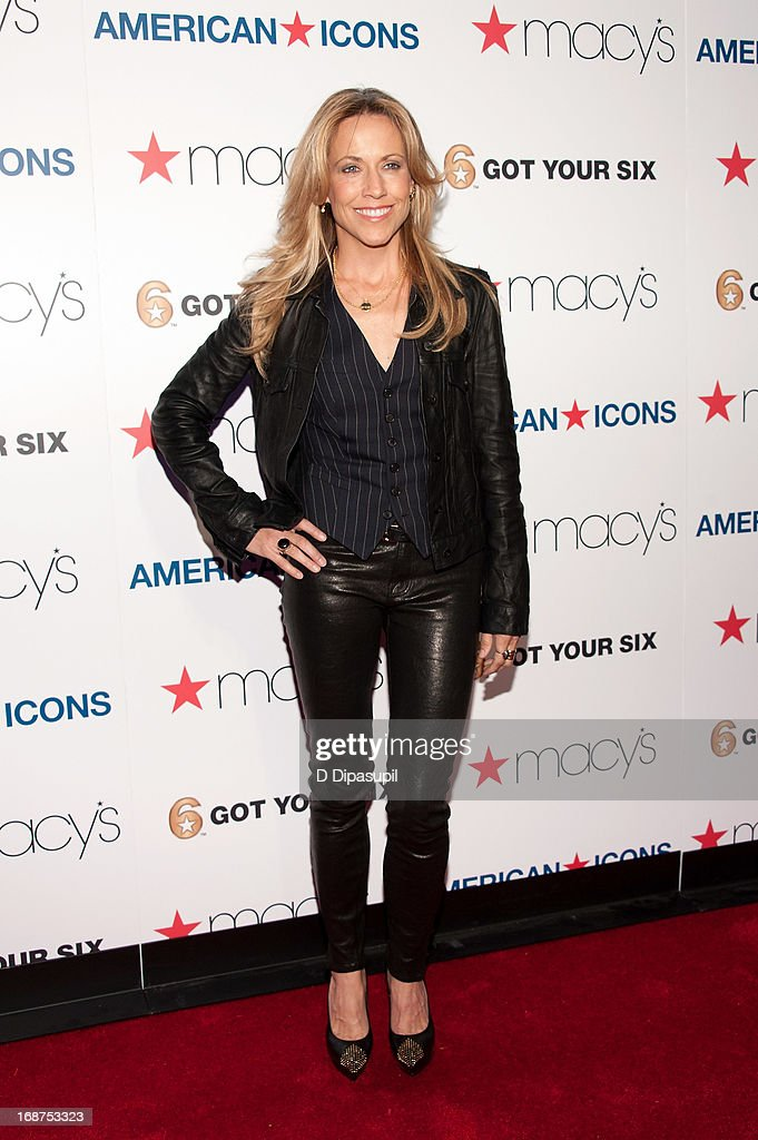 Sheryl Crow attends Macy's 'American Icons' Campaign Launch at Gotham Hall on May 14, 2013 in New York City.