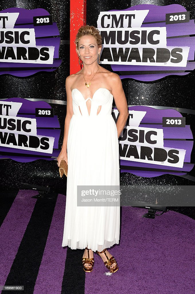 Sheryl Crow attends the 2013 CMT Music awards at the Bridgestone Arena on June 5, 2013 in Nashville, Tennessee.