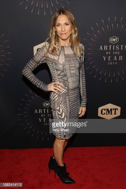 Sheryl Crow attends the 2018 CMT Artists of The Year at Schermerhorn Symphony Center on October 17 2018 in Nashville Tennessee