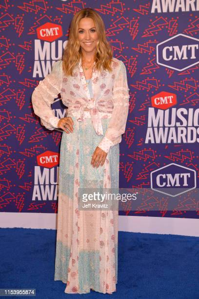 Sheryl Crow attends the 2019 CMT Music Awards at Bridgestone Arena on June 05 2019 in Nashville Tennessee