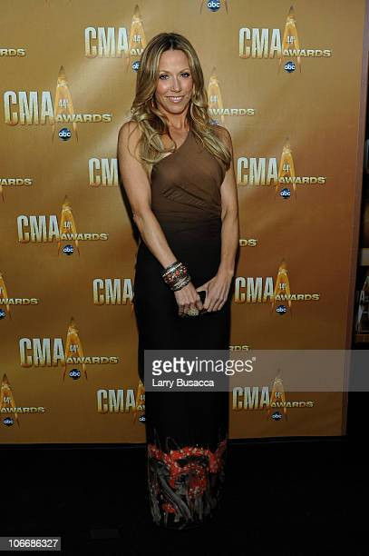 Sheryl Crow attends the 44th Annual CMA Awards at the Bridgestone Arena on November 10 2010 in Nashville Tennessee