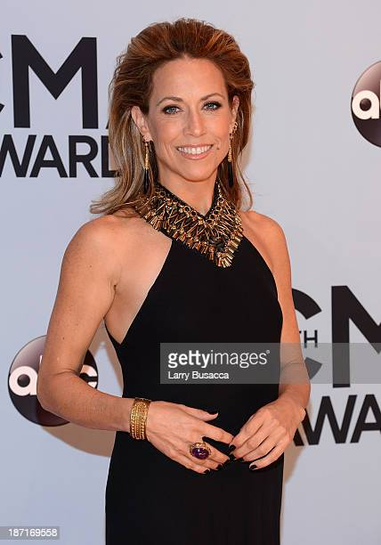 Sheryl Crow attends the 47th annual CMA Awards at the Bridgestone Arena on November 6 2013 in Nashville Tennessee