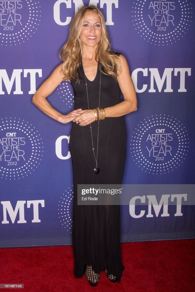 Sheryl Crow attends the CMT Artist of the Year Awards at The Factory At Franklin on December 3, 2012 in Franklin, Tennessee.