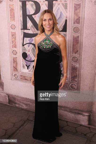 Sheryl Crow attends the Ralph Lauren fashion show during New York Fashion Week at Bethesda Terrace on September 7 2018 in New York City