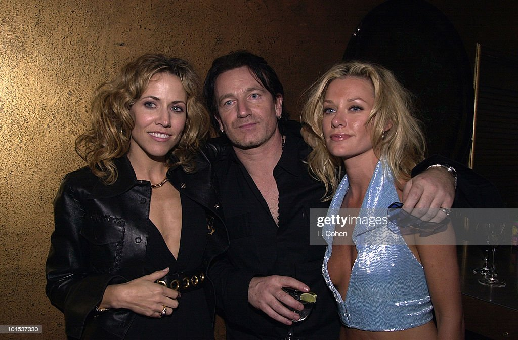 Sheryl Crow, Bono, & Shelby Lynne during The 43rd Annual GRAMMY Awards - Universal Music Group After Party at Cicada in Los Angeles, California, United States.