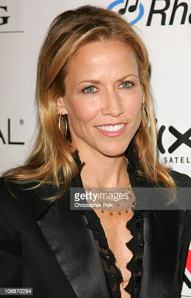 Sheryl Crow during 2006 Clive Davis PreGRAMMY Awards Party Arrivals at Beverly Hilton Hotel in Beverly Hills California United States