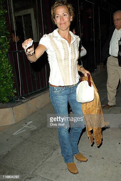 Sheryl Crow during Celebrity Sightings at Il Sole May 5 2007 at Il Sole in West Hollywood California United States