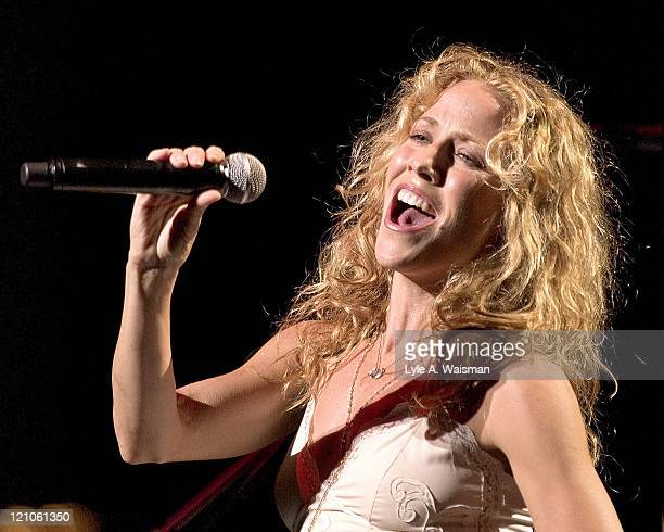 Sheryl Crow during Sheryl Crow in Concert at the Auditorium Theatre January 28 2006 at Auditorium Theatre in Chicago Illinois United States