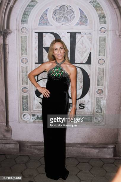 Sheryl Crow during the Ralph Lauren 50th Anniversary September 2018 New York Fashion Week at Bethesda Terrace on September 7 2018 in New York City