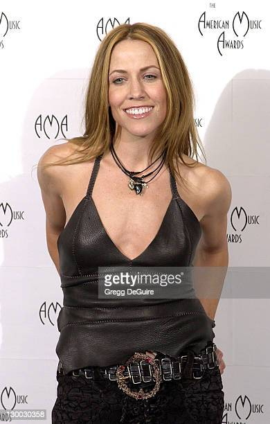 Sheryl Crow in the press room at the 29th Annual American Music Awards