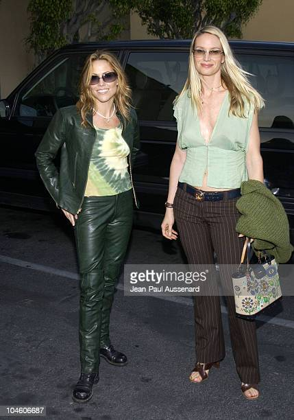 Sheryl Crow Kelly Lynch during Ivansxtc Los Angeles Premiere at Raleigh Studios in Los Angeles California United States