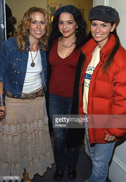 Sheryl Crow Norah Jones and Shania Twain during 'Willie Nelson and Friends Live and Kickin'' Premiers on USA Network on May 26 2003 Rehearsal and...