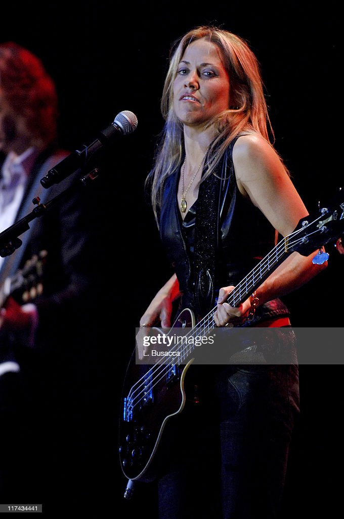Sheryl Crow performs at the T.J. Martell Foundation's 31st Annual Awards gala at the Marriott Marquis in New York City