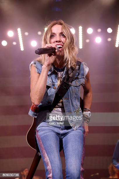 Sheryl Crow performs in concert during the annual Willie Nelson 4th of July Picnic at the Austin360 Amphitheater on July 4, 2017 in Austin, Texas.