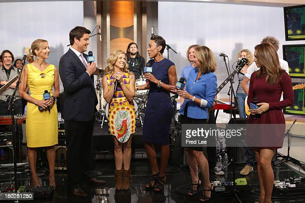 """Sheryl Crow performs live on """"Good Morning America,"""" 9/10/13, airing on the Walt Disney Television via Getty Images Television Network. LARA SPENCER,..."""