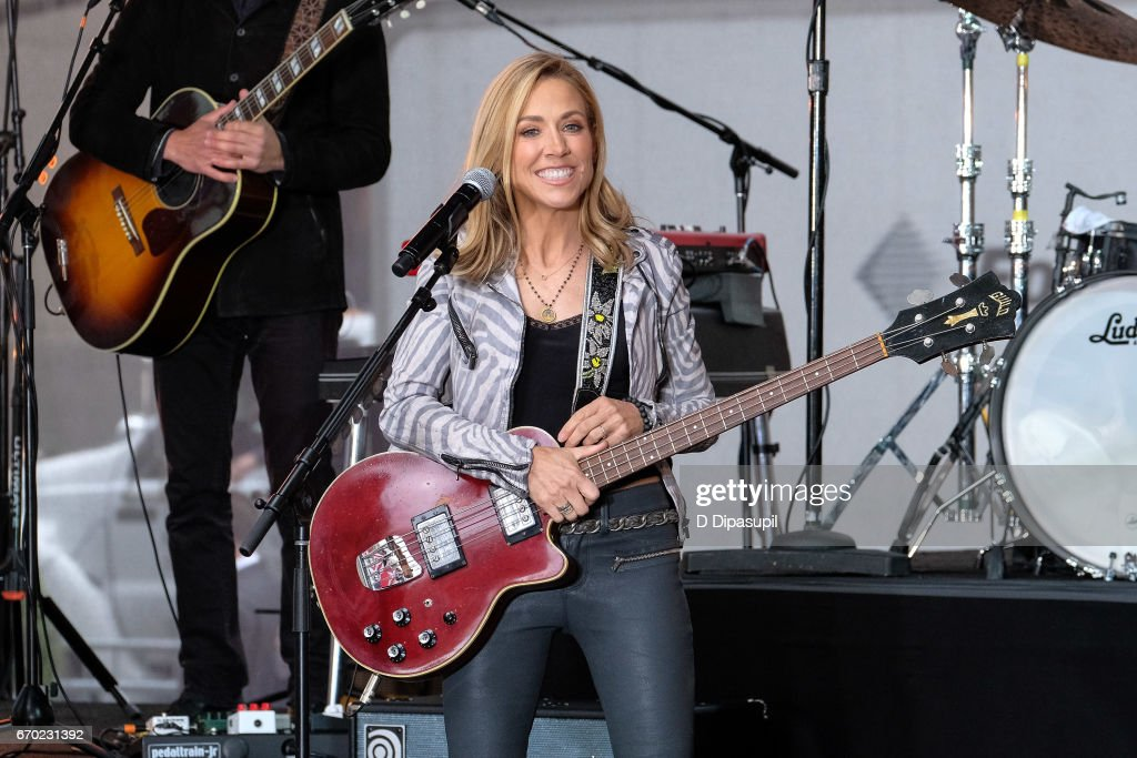 "Sheryl Crow  Performs On NBC's ""Today"""