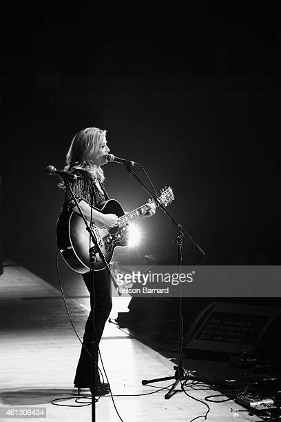 Sheryl Crow performs on stage during The Life Songs of Emmylou Harris An All Star Concert Celebration at DAR Constitution Hall on January 10 2015 in...