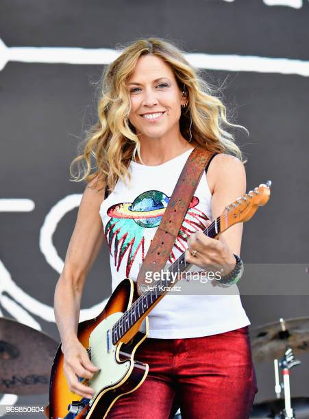 Sheryl Crow performs on What Stage during day 2 of the 2018 Bonnaroo Arts And Music Festival on June 8 2018 in Manchester Tennessee