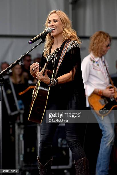 Sheryl Crow performs onstage during Pilgrimage Music Cultural Festival on September 26 2015 in Franklin Tennessee