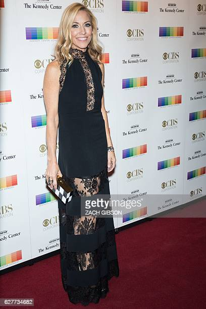 Sheryl Crow poses on the red carpet before the 39th Annual Kennedy Center Honors December 4 2019 in Washington DC / AFP / ZACH GIBSON
