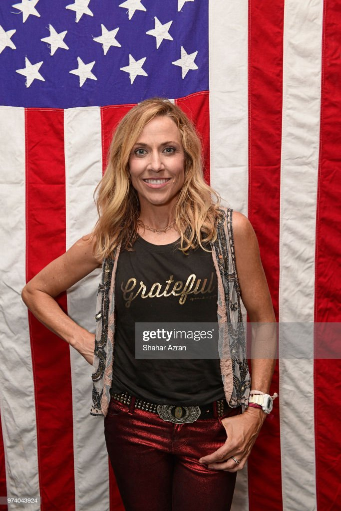Sheryl Crow presents fall collections for HSN after her concert on June 13, 2018 in New York City.