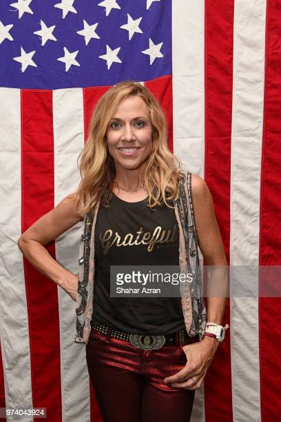 Sheryl Crow presents fall collections for HSN after her concert on June 13 2018 in New York City