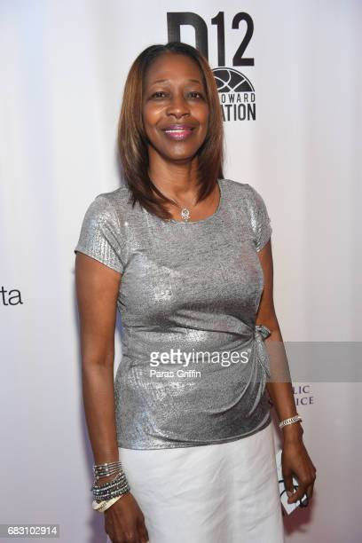 """Sheryl Howard attends """"Diary Of A Wimpy Kid: The Long Haul"""" Atlanta screening hosted by Dwight Howard at Regal Atlantic Station on May 14, 2017 in..."""