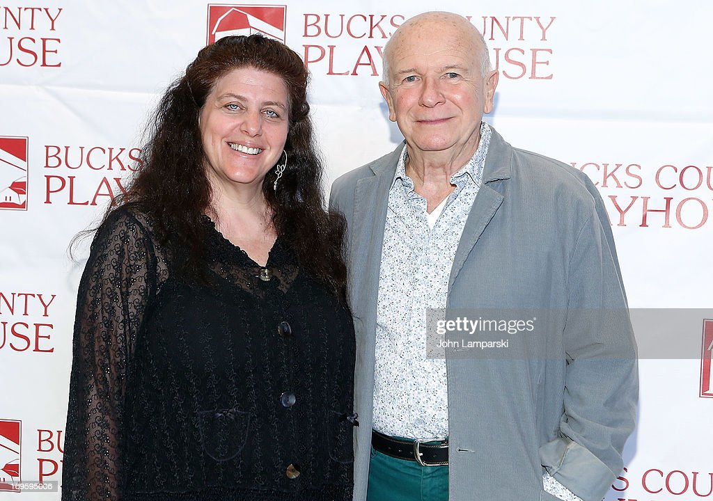 Sheryl Kaller and Terrence McNally attend 2013 Bucks County Playhouse Summer Season Press Preview at Signature Theater on May 28, 2013 in New York City.