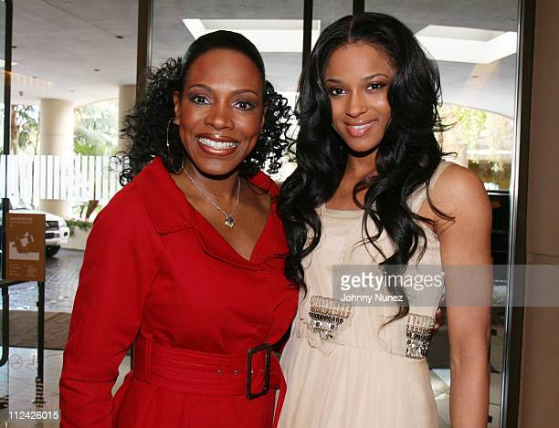 Sheryl Lee Ralph and Ciara during The 49th Annual GRAMMY Awards - Mercedes Benz Presents The AEC 5th Annual Artist Celebration Luncheon Honoring 49th...