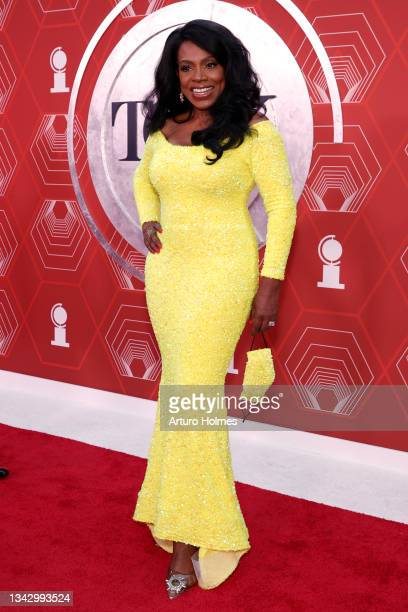 Sheryl Lee Ralph attends the 74th Annual Tony Awards at Winter Garden Theater on September 26, 2021 in New York City.
