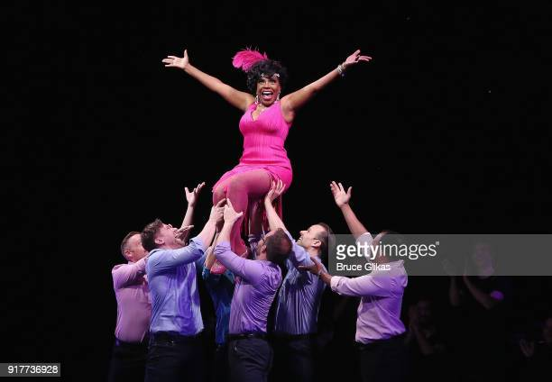 Sheryl Lee Ralph performs at the 'Thoroughly Modern Millie' 15th Anniversary Reunion Concert at The Minskoff Theater on February 12 2018 in New York...