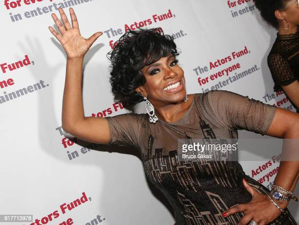 Sheryl Lee Ralph poses at the 'Thoroughly Modern Millie' 15th Anniversary Reunion Concert After Party at Opry City Stage on February 12 2018 in New...