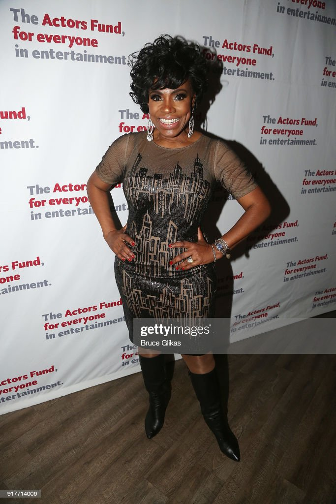Sheryl Lee Ralph poses at the 'Thoroughly Modern Millie' 15th Anniversary Reunion Concert After Party at Opry City Stage on February 12, 2018 in New York City.