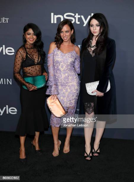 Sheryl Luke Sydne Summer and Michelle Trachtenberg at the 2017 InStyle Awards presented in partnership with FIJI WaterAssignment at The Getty Center...
